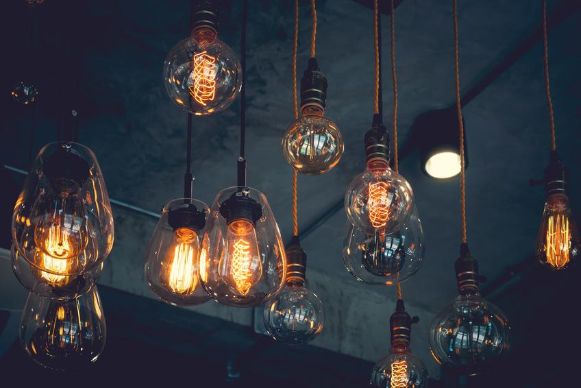 vintage luxury light bulb